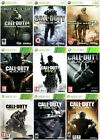 Call Of Duty Xbox 360 Assorted Bundle Same Day Dispatch 1st Class Super Fast Del