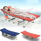 Kyпить Folding Camping Cot with Carry Bag Portable Lightweight Rollaway Bed Guest NEW на еВаy.соm