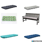 Outdoor Garden 2 Or 3 Seater Bench Cushion Pad Replacement