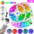 32/49FT Flexible Strip Light RGB 600 900 LED SMD Remote Fairy Lights Room Party