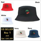 Kyпить Cherry Bucket Hat Cap Cotton Fishing Boonie Brim visor Sun Safari Summer Camping на еВаy.соm
