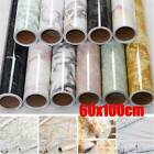 Home Kitchen Waterproof Oil Proof Pvc Foil Self Adhesive Wall Cabinet Sticker