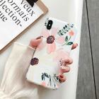 Colorful Flower Leaf Soft Case Cover For iPhone 11 Pro Max XR 7Plus Series Decor