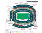 3 Phila. Eagles Lower Level Section 103 ROW1 Tickets Vs Washington Redskins 1/3 For Sale