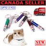 New Cat Toys Teaser Interactive Laser Pen  2  in1 LED Torch  Pointer Keychain CA