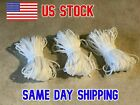 1/8 Inch 3mm Round Elastic White or Black Cord 10 Yards USA Seller