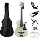 CLASSIC ACOUSTIC GUITAR 6 STRING PACK BOYS GIRLS MUSIC GUITAR 4/4 SIZE 38