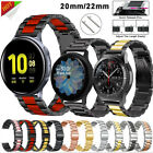 For Samsung Galaxy Watch 46mm Gear S3 Frontier Stainless Steel Strap Wrist Band image
