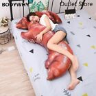 110cm Large Size Toy Pig Feet Plush Toy Sleepping Bed Pillow Soft Cushion Gift