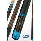 Viking Billiards Pool Cue Stick Rosewood White Blue Pearl Irish Linen Cross A451 $427.5 USD on eBay