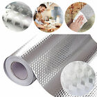 Kitchen Oil-Proof Sticker Waterproof Self Adhesive Aluminum Foil Wall Stickers