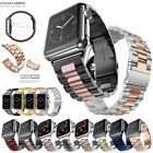 Stainless Steel Band Strap For Apple Watch 5 4 3 2 1 iWatch Series 38/40/42/44mm image