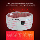 Thin Massage Belly Belt Vibrating Heating Infrared Fat Weight Loss Extender Belt