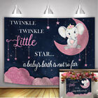 Twinkle Twinkle Little Star Backdrop Princess Baby Shower Party Decor Background