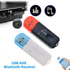 1Pc Bluetooth Receiver Connector USB Stereo Audio 10 meters Accessories