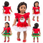 Christmas Doll Clothes 18 Inch American Girl Clothes Accessories