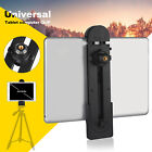 """Tablet Tripod Stand Mount Clamp Holder Bracket 1/4""""Thread Adapter For 3-14"""" iPad"""