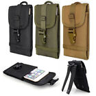 Cell Phone Pouch Bag Case Cover Small For Backpack Vest W/double Hook Practical