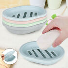 2PCS Soap Dish With Drain Container Soap Saver Bathroom Shower Soap Holder Case