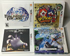 Kyпить Nintendo 3DS Empty Game Case Only, Some w/ Original Guides / Booklets / Manuals на еВаy.соm