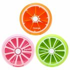 1 Pc Portable Rotating 7 Day Weekly Pill Organizer Travel Medicine Tablet H J2I4