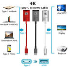 USB-C Type-C 3.1 To HDTV HDMI TV Cable Adapter For Samsung MacBook Microsoft LG