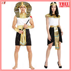 Halloween Egyptian Pharaoh Cleopatra Couple Costume Cosplay Costumes Adult Cute
