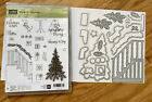 Stampin' Up! NEW, Retired Holiday Clear (Cling) Mount/Photopolymer Stamp Bundles