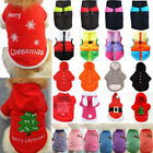 Winter Pet Dog Puppy Thermal Sweater Coat Christmas Warm Costume Jacket Clothes