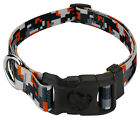 Country Brook Design® Deluxe Orange Digital Camo Dog Collar - Made in The U.S.A.