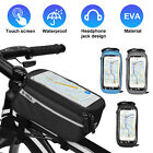 Waterproof Bike Bicycle Front Top Tube Frame Bag MTB Mountain Phone Holder Case