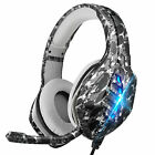 Gaming Headset w/Noise-Cancelling Mic Headphone for PS5/Xbox One/Nintendo Switch
