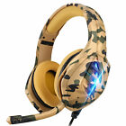 Gaming Headset w/Noise-Cancelling Mic Headphone for PS4/Xbox One/Nintendo Switch