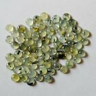 Lovely Lot Natural Prehnite 20X20 mm Round Cabochon Loose Gemstone