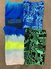 Under Armour Boys Volley Swimming Trunks Swimsuit UA Blue Green Black New 40