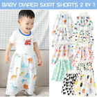 Childrens Kids Comfy Diaper Skirt Shorts 2 in 1 Waterproof and Absorbent Shorts