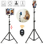 Adjustable Selfie Tripod Stand Holder Kit w/Remote For Universal Phone Tablet US