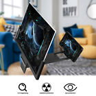 Foldable 14'' 3D Mobile Phone Screen Magnifier HD Video Amplifier Stand Bracket