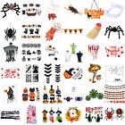 HALLOWEEN Window Stickers Hanging Pendant Prop Party Festival Decor LOT