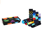 Happy Socks classic Multi color  Gift Box Calzini Uomo Donna 4 paia