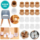 lot chair table leg caps feet cover floor protectors furniture gliders silicone