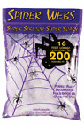 Fun World Super Stretch Spider Web for Halloween Indoor/Outdoor Decoration