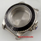 40mm bow glass automatic Watch Case fit eta 2836 8215 NH35 NH36 Movement