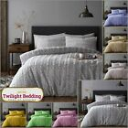 KING SIZE BEDDING TEDDY FLEECE Duvet Cover Set Ultra Soft Fluffy Luxe Faux Fur