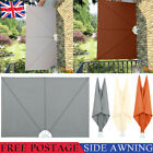 Side Awning Privacy Garden Balcony Terrace Patio Sunshade Screen Collapsible