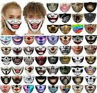 3d Printed Face Mask Fun Face Cover Washable&reusable Outdoor Protection Unisex