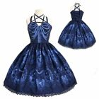 Gothic Lolita Charm Dress Steampunk Cosplay Theater Clothing Halloween Costume