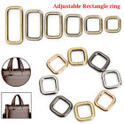 Rectangle D Ring Belt Ribbon Buckle Backpacks Shoes Buttons Collar Buckles