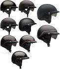 Bell Adult Pit Boss Half Motorcycle Helmet DOT