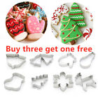 Xmas Theme Christmas Cookie Cutter Cake Mould Baking Tool Biscuit Mold✅